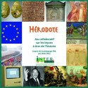Hérodote - couvercle boite jeu de société sur l'histoire