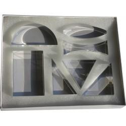 Set de 7 lentilles optiques
