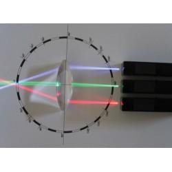 3 projecteurs LED colorées