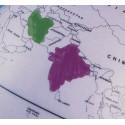 Globe terrestre effaçable à sec + livret méthode de mémorisation des cartes de géographie